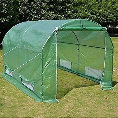 BenefitUSA 10'x7'x6' Walk in Outdoor Canopy Gazebo Plant Gar