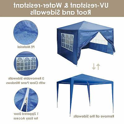 canopy party wedding tent blue