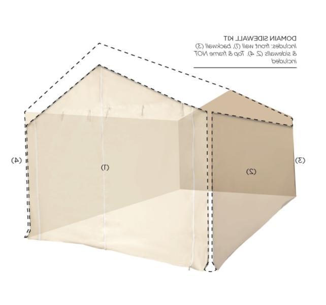 Canopy Side Kit 10 Caravan Carport Enclosure Tent