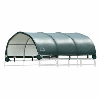 corral 12 x 12 ft shelter green