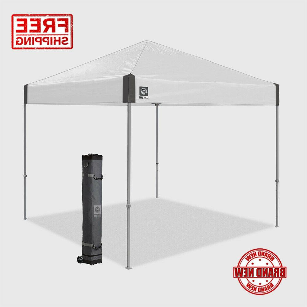 E-Z UP Ambassador 10x10ft Canopy Instant Shelter Easy Setup