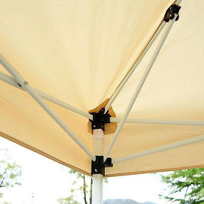 Outsunny 10' x 10' Easy Tent w/ Walls