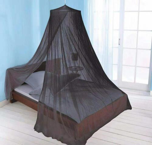 Just Elegant Net Canopy Black, Twin-Full