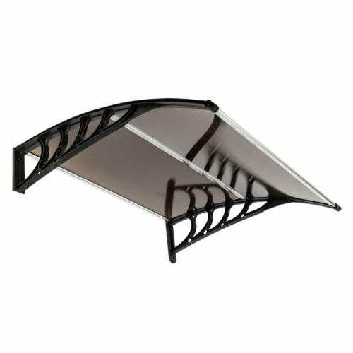 Front Window Awning Patio UV Protected Eaves Canopy US