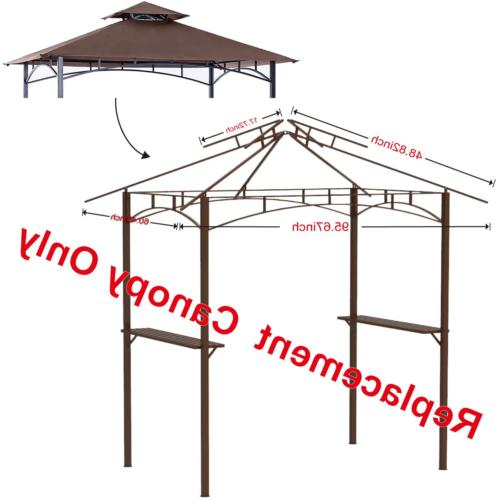 Gazebo Canopy Roof Grill Sunshade