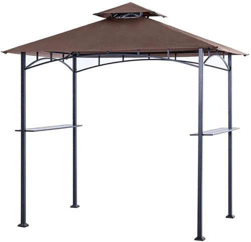 gazebo canopy top replacement roof grill shelter