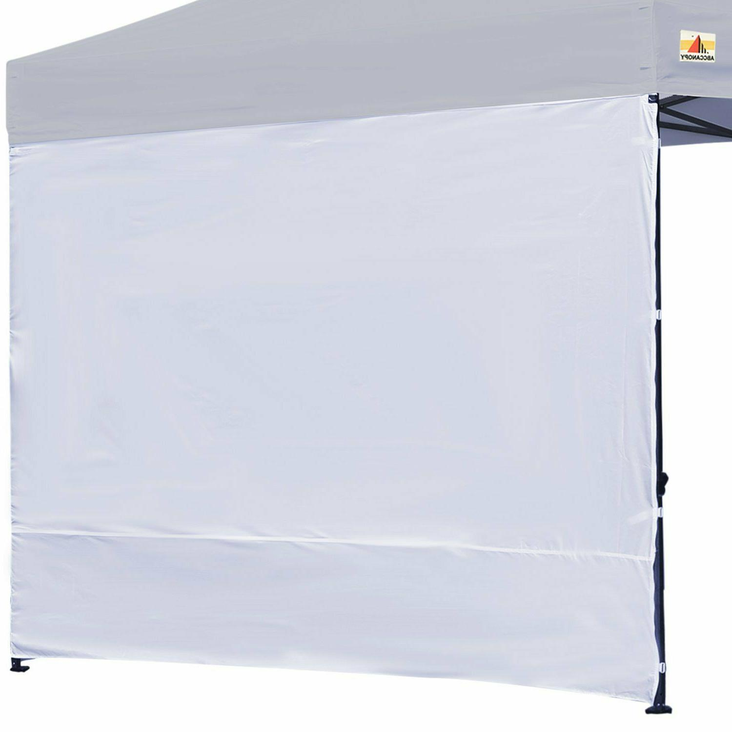 instant canopy sunwall 15 colors for 10x10