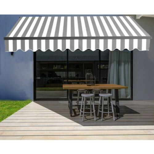 motorized retractable home patio canopy awning 10
