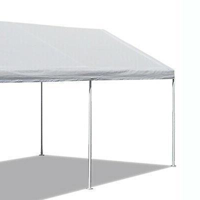 10' X Portable Heavy Duty Canopy Garage Tent Carport Car Steel Frame