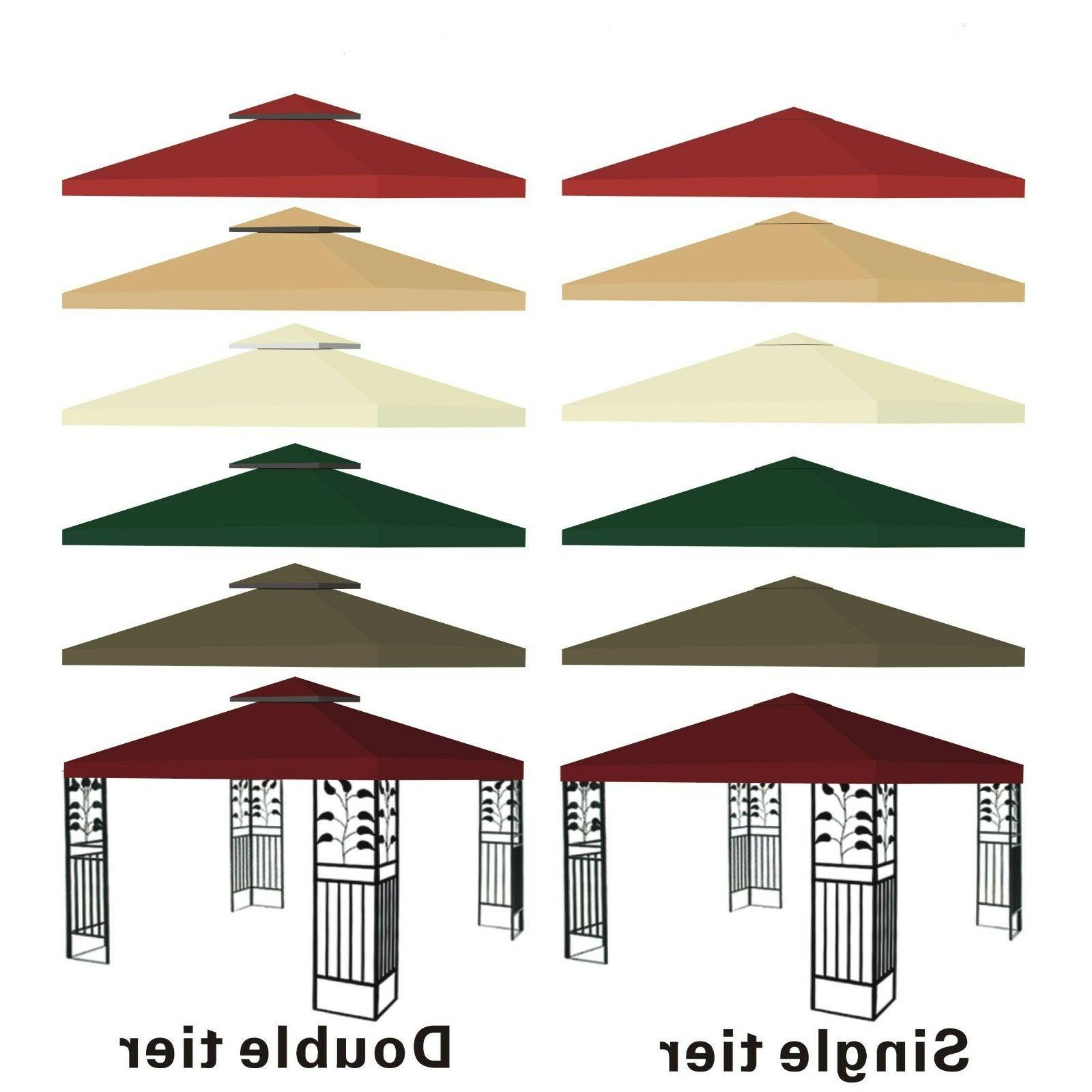 new 10x10 replacement canopy top patio pavilion