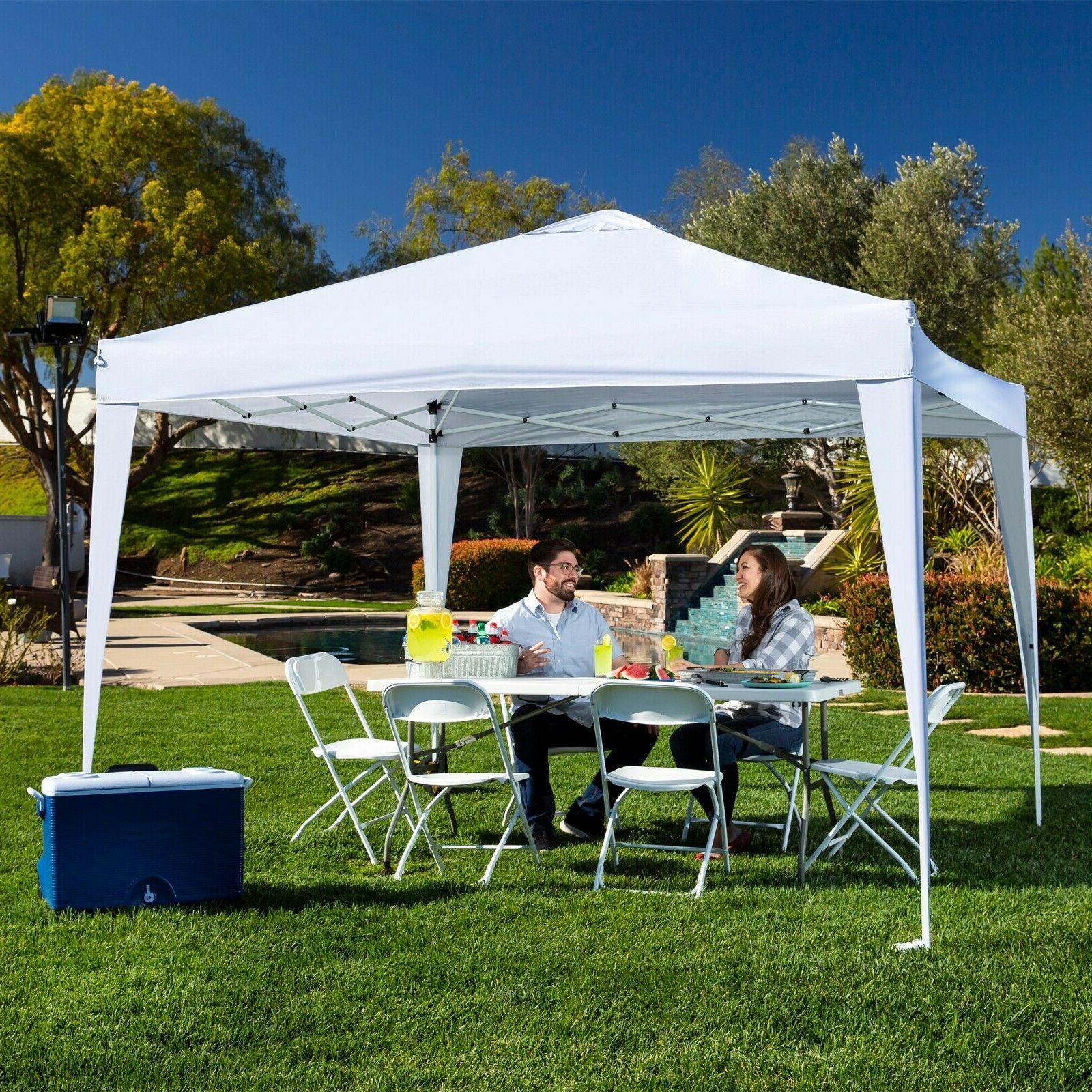 outdoor portable adjustable instant pop up gazebo