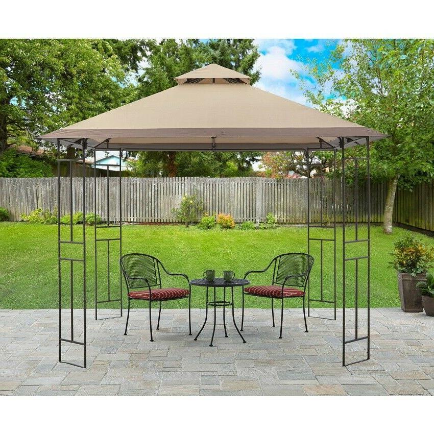 Patio Gazebo Yard and Garden Furniture Canopy Shelter Sun Sh
