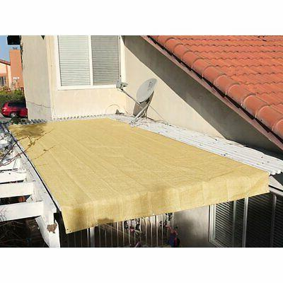 Alion Home Cover Sunblock Patio Canopy HDPE Cloth