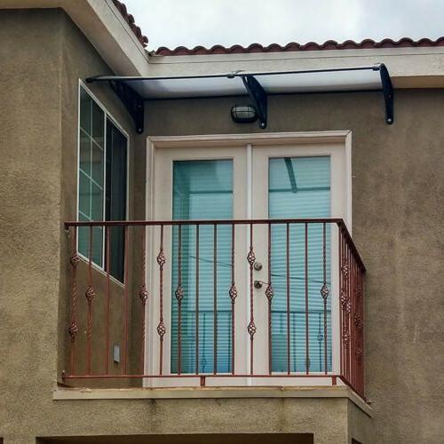 ALEKO Polycarbonate Outdoor or Door x Brown