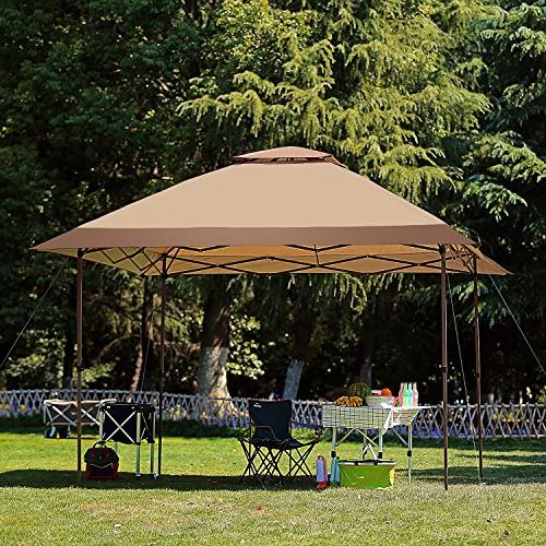 12' x Pop Up Canopy Outdoor Portable Party Wedding Tent One