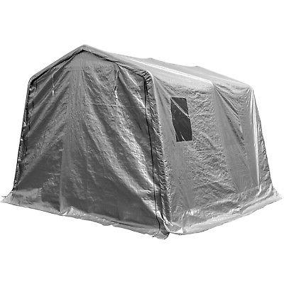 Portable Storage Shed Outdoor Carport Canopy Garage Shelter
