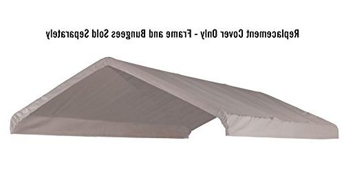 ShelterLogic 10ft. 20ft. Replacement Top White