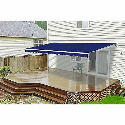 retractable motorized home patio canopy awning 12