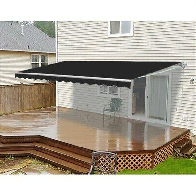 retractable motorized home patio canopy awning 16