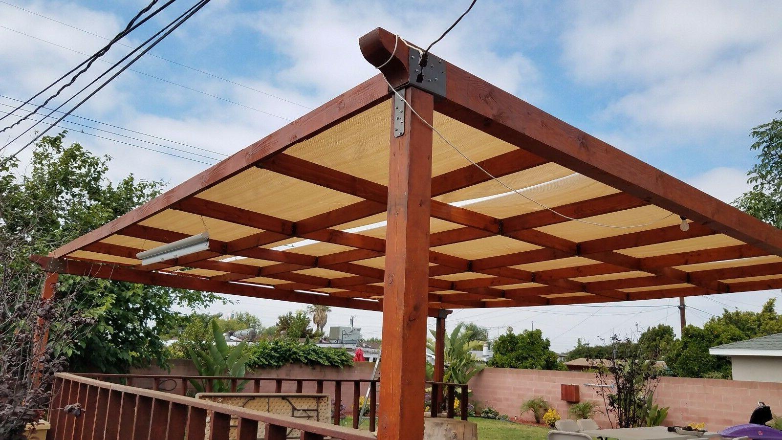 Alion Cloth 200GSM 90% UV Block Raw-Cut Patio Canopy
