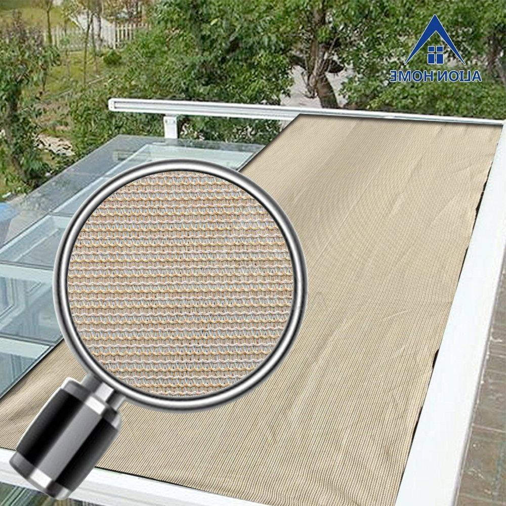 Alion Shade 200GSM 90% Block Raw-Cut Patio Cover Canopy