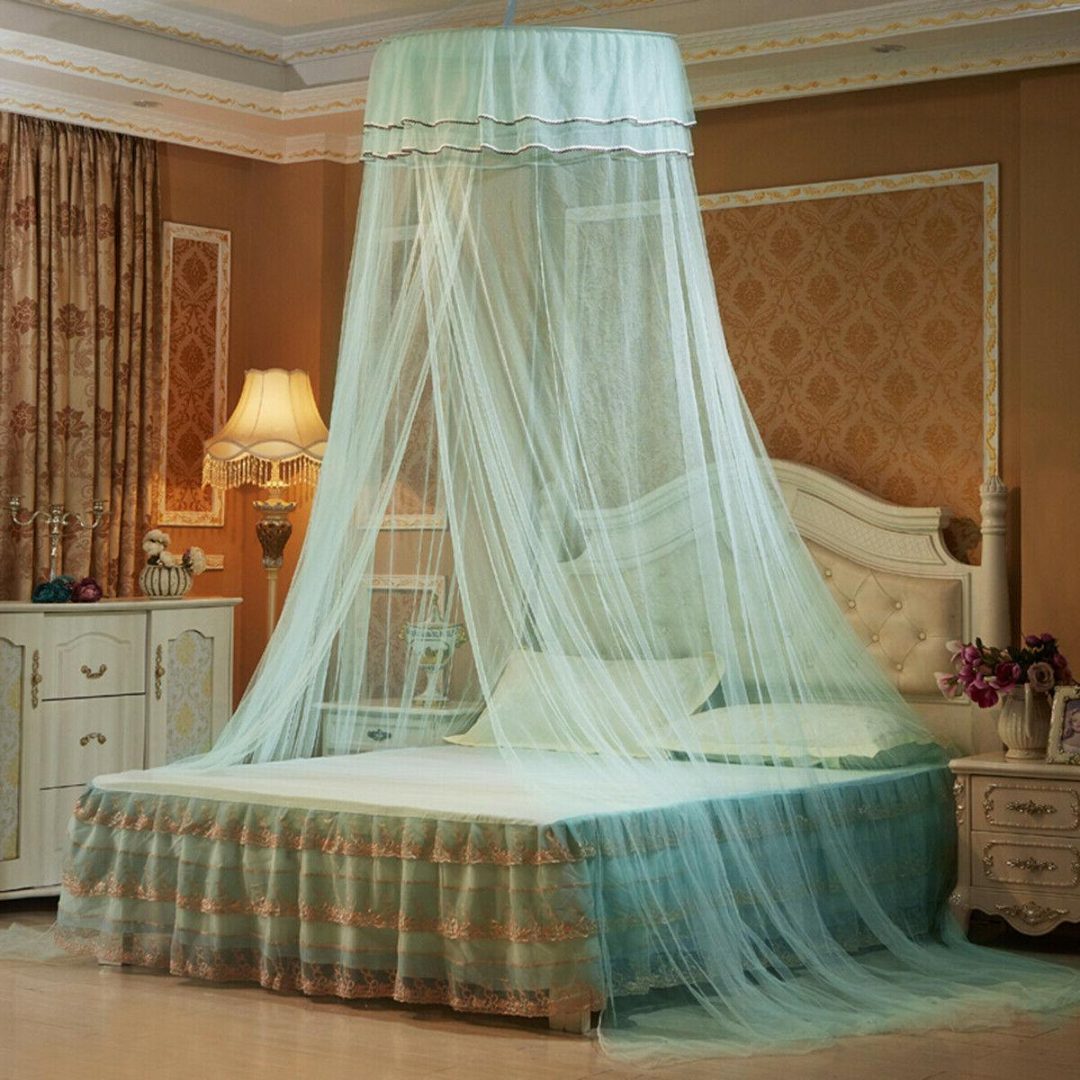 solid mosquito net bed queen size home
