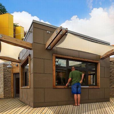 160 Square Sun Shade Sail Outdoor Garden Patio Canopy Cover