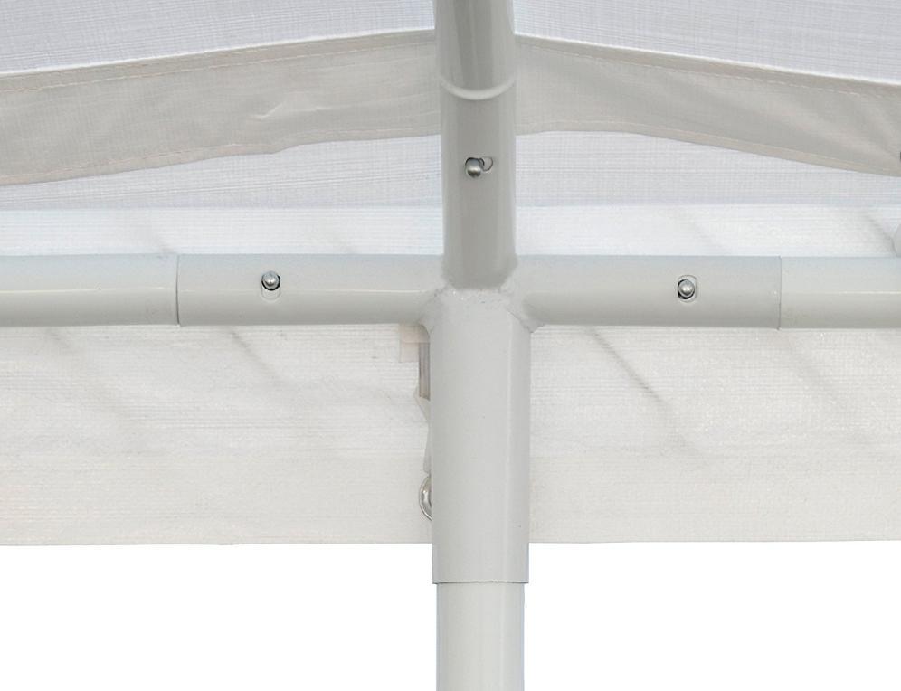 Steel Frame Sidewall Shelter Carport Car Shade