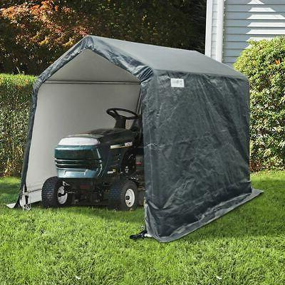 Quictent Storage Shelter 6 x 6- Feet Outdoor Carport Shed He