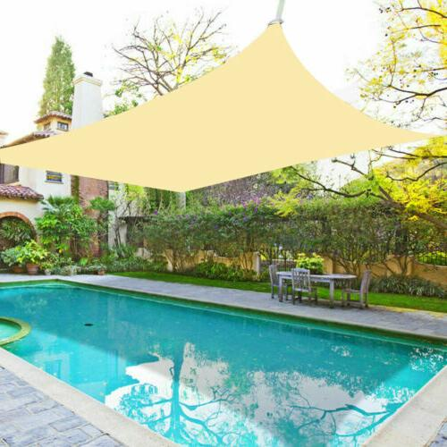 Waterproof Sail Patio Pool Top Canopy 300D UV Outdoor Awnings