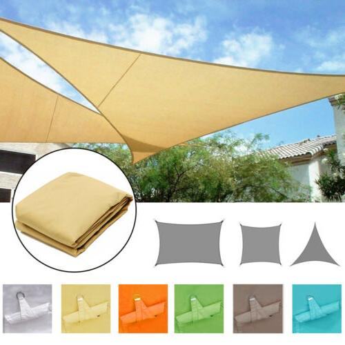 waterproof canopy sun shade sails 300d oxford