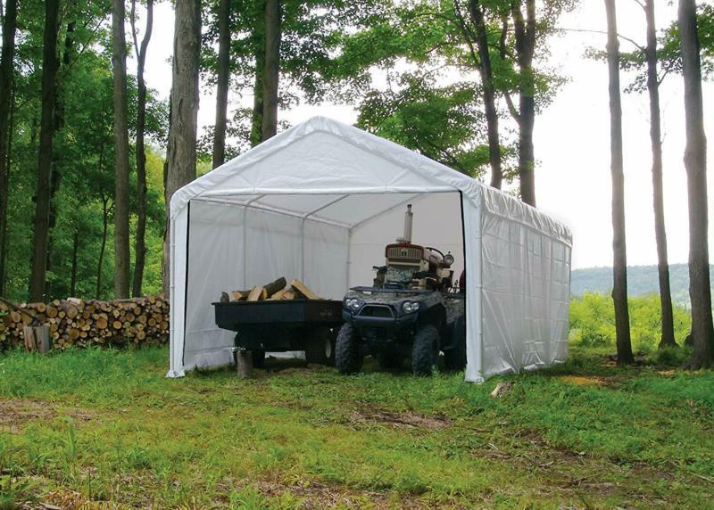Shelterlogic Ft. X 20 White Canopy And Fr