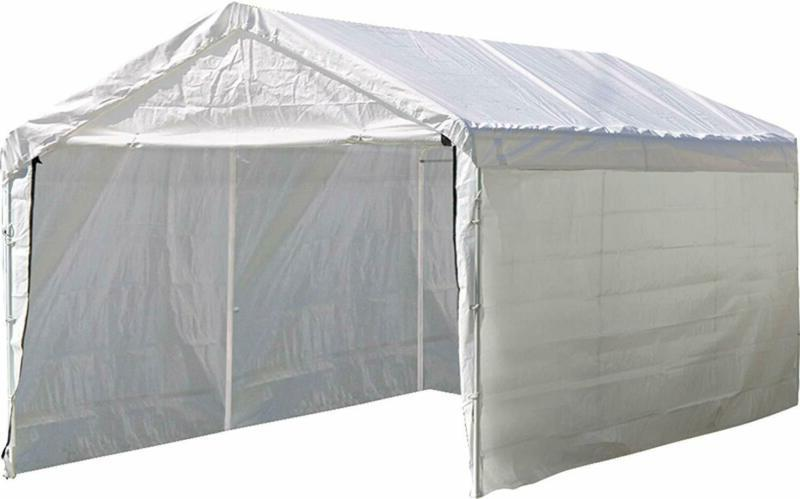 Shelterlogic Super Max 12 Ft. X 20 Ft. White Canopy Enclosur