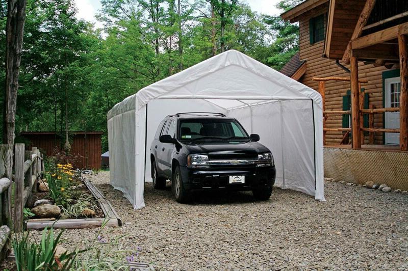 Shelterlogic Max 12 Ft. X White Canopy Fr