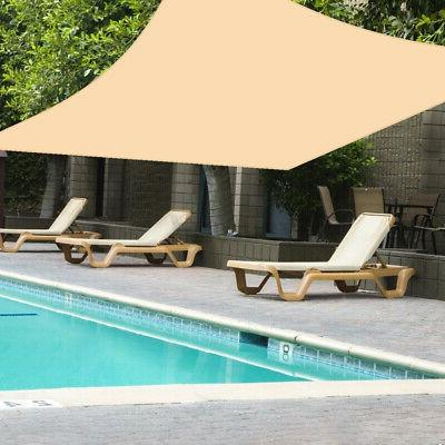 UV Shade Sail Outdoor Top Canopy Cover Square Rectangle