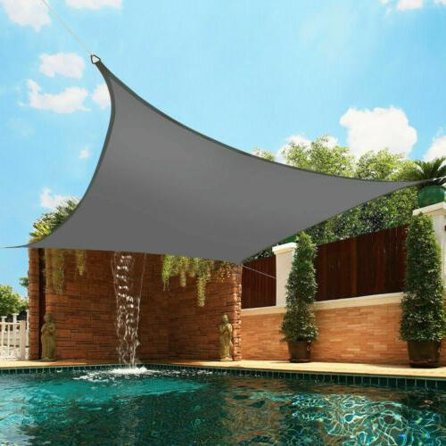 Waterproof Sun Sails UV Protection Top Awnings