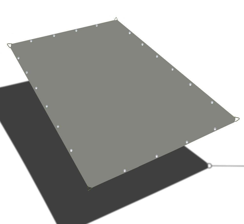 waterproof straight edge canopy shade cover w