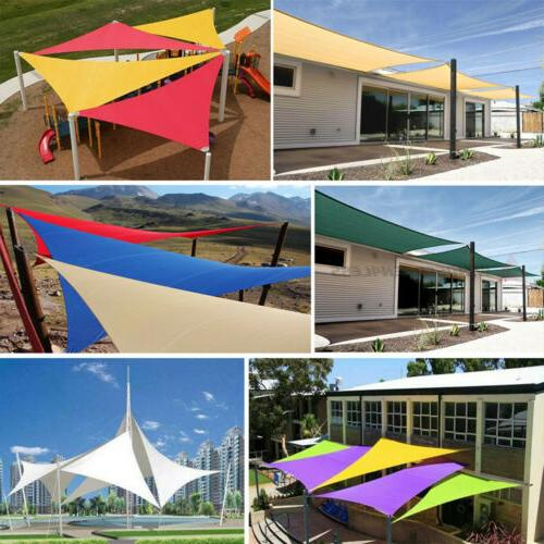 Waterproof Shade Sail Patio Canopy 300D Outdoor Awnings