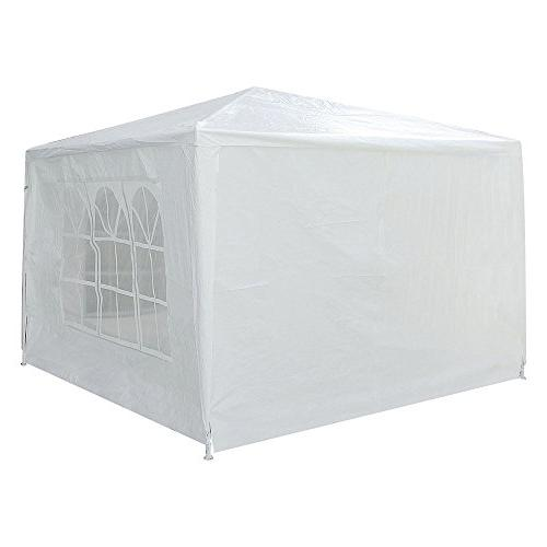 Yescom 10x10' White Wedding Party Patio w/ for Event