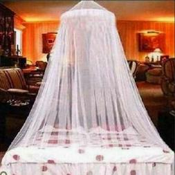 Hanging Bed Netting Canopy Lace Mosquito Net Dome Princess S