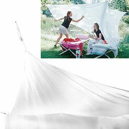 Large Mosquito Net for Indoor Outdoor Camping Netting Canopy