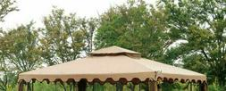Sunjoy Manufacturer Replacement Canopy Set for Gazebo 10x12f