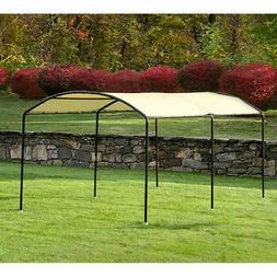 ShelterLogic Monarc Canopy, 10' x 18', Black Arched Frame, S