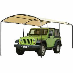 Monarc Canopy 9 ft. x 16 ft. with 1-2/8 in. Steel Black Fram