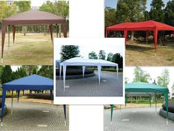 New 10' X 20'outdoor Easy Pop up Canopy Gazebo Cover Wedding