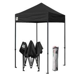 5x5 Black Ez Pop Up Commercial Canopy Party Outdoor Vendor P