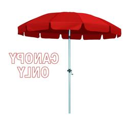 New 8.5 Ft 12 Rib Replacement Patio Umbrella Polyester Canop