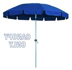 New 8.5 Ft 12 Rib Replacement Patio Umbrella Poly Canopies P