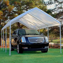 NEW KING CANOPY REPLACEMENT COVER TOP - SILVER - 10' X 20' F