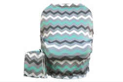 WobbleBaby Nursing Cover-Carseat Canopy, Multiple uses, New